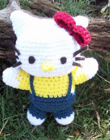 PATRON GRATIS HELLO KITTY AMIGURUMI 367