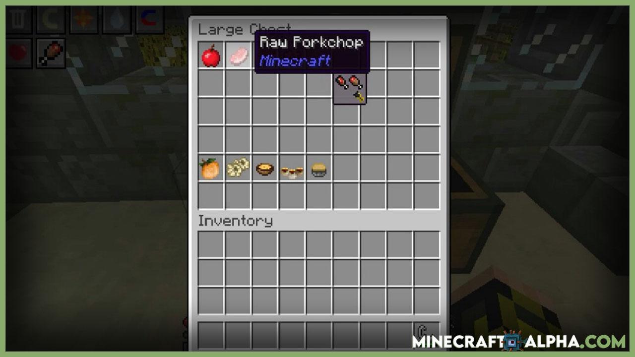 Minecraft AppleSkin Mod 1.17.1 (Food-Related HUD)