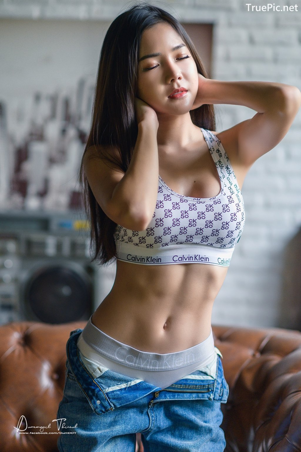 Image-Hot-Girl-Thailand-Phitchamol-Srijantanet-Sexy-Beauty-With-Sport-Bra-and-Monokini-TruePic.net- Picture-9