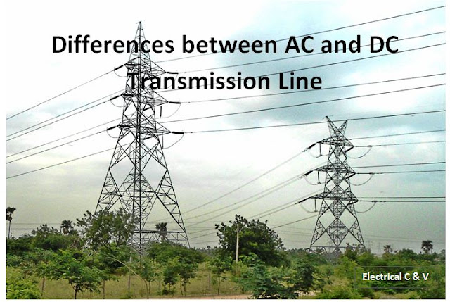 Difference between AC and DC Transmission Line