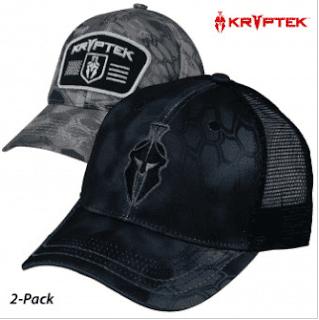 $10, 2-Pack Kryptek Performance Cap