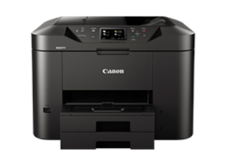 Comprehensive security along alongside maintenance powerfulness IP address filtering organization permits Canon MAXIFY MB2755 Driver Download
