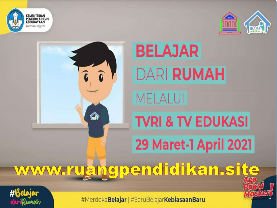 Jadwal BDR Di TVRI Dan TV Edukasi