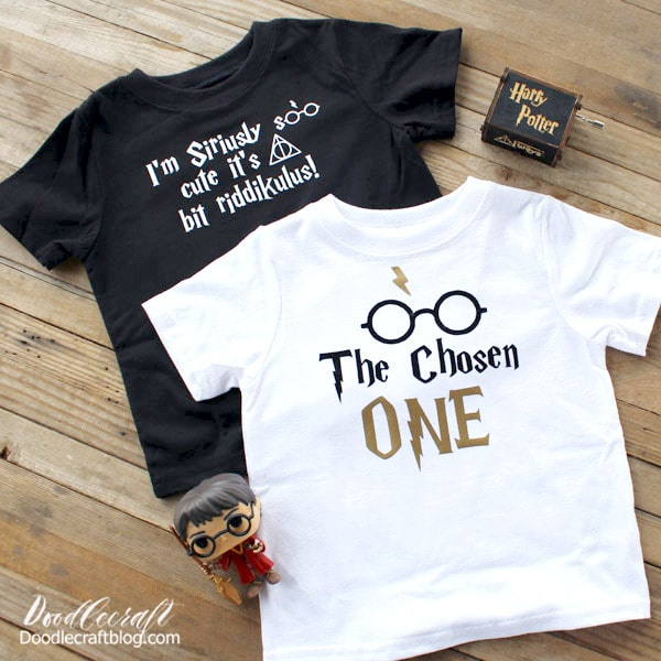 Make the perfect Harry Potter shirts for any occasion with the Cricut! I love Harry Potter! I love using my Cricut to create custom shirts, mugs and other items. Customizing things is the best! It's not always easy to find the exact shirt you have in mind, but if you can make it yourself, it's a win!