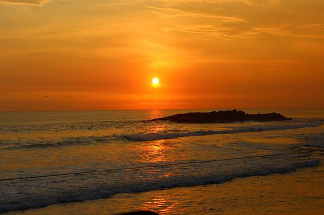 sunset, beautiful, orange, view, Kovalam, kerala