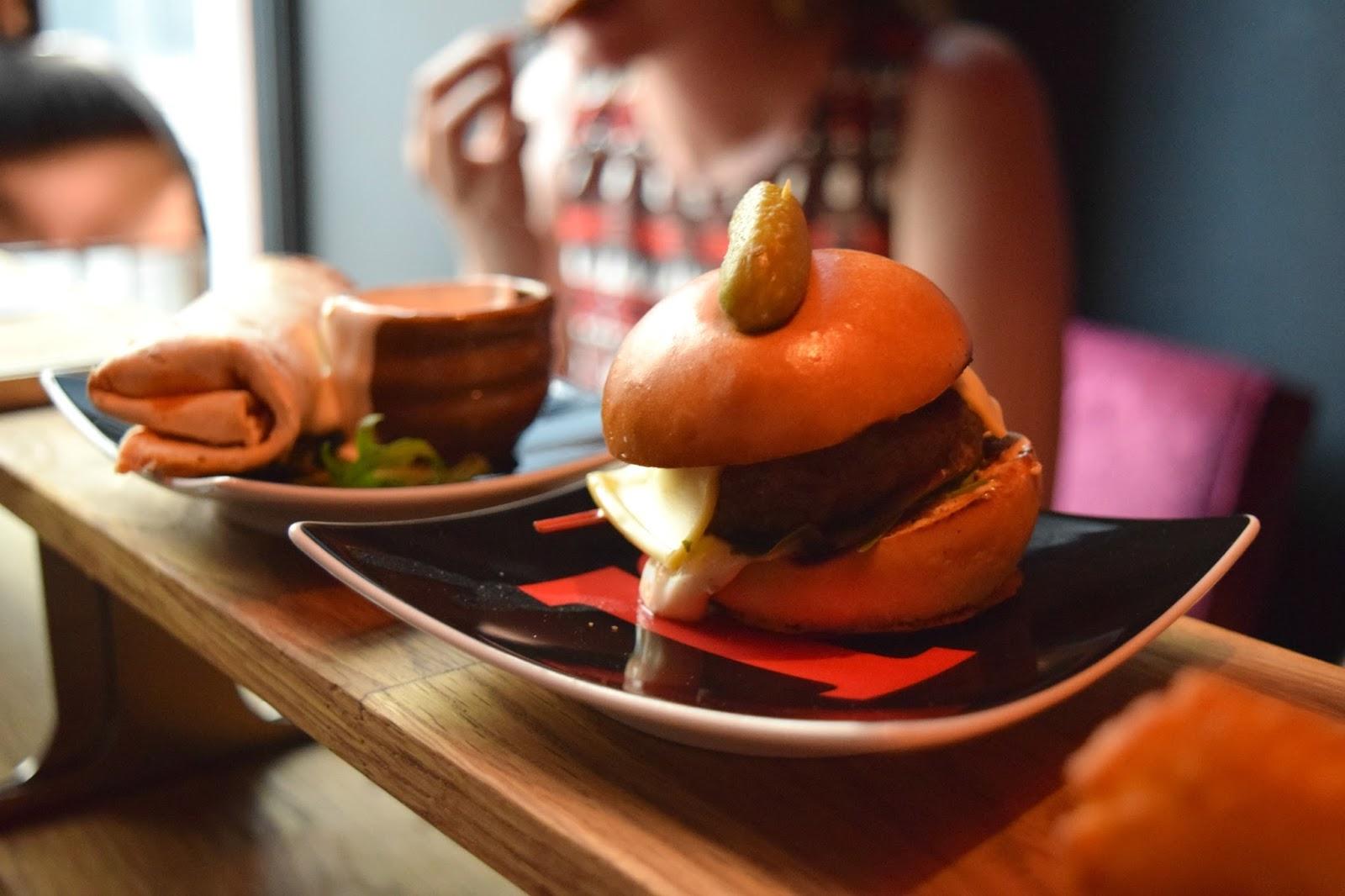 Mini Burger Pinchos Malmo