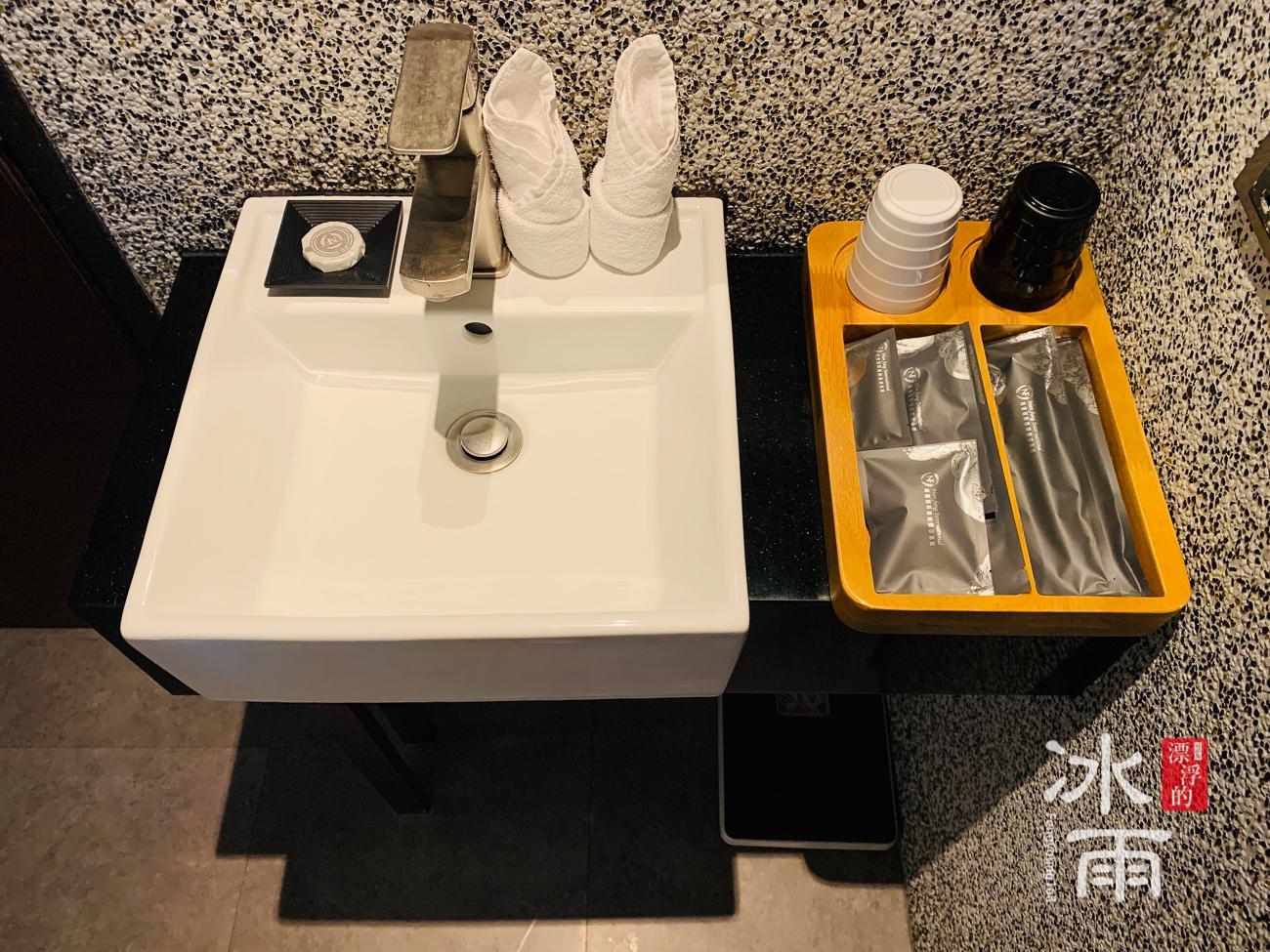 南豐天玥泉 北投館|洗手台和備品