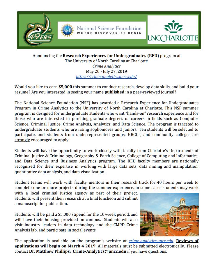 uncc dissertation announcement
