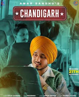 Chandigarh Lyrics   Amar Sandhu Hd Video Lyrics Song   DjPunjabNew.CoM