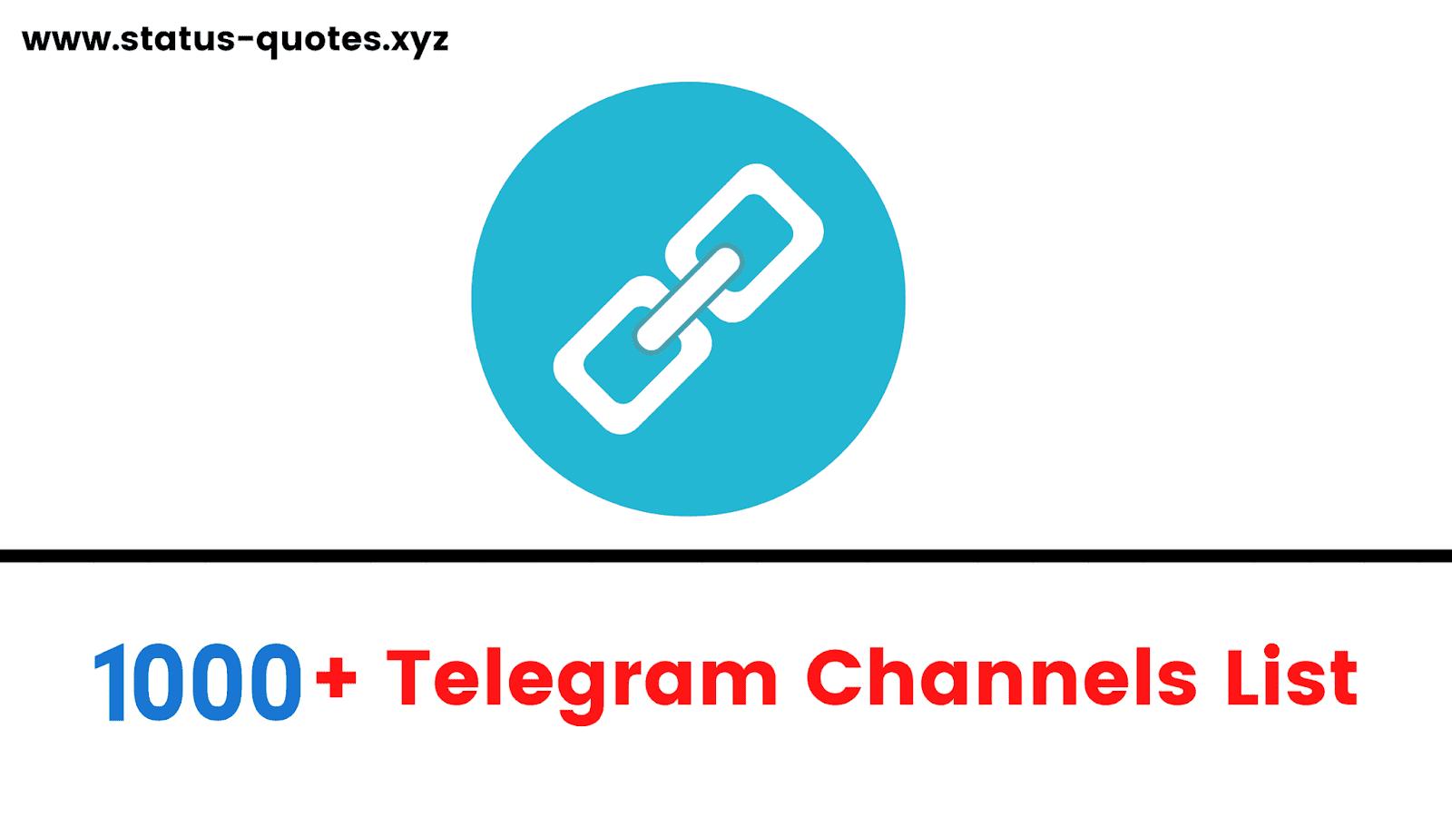 20+ Telegram Groups & Channels list【July 20 】