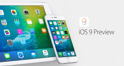 آبل  iOS 9 beta 4
