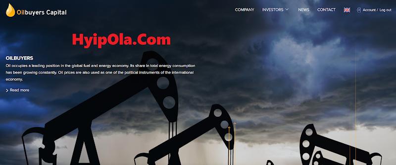 [Not Monitored] Review Oilbuyers Capital - Dự án mới của Diamonds Capital - Lãi từ 2% hằng ngày