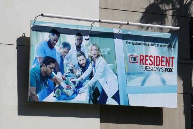 Resident season 3 billboard