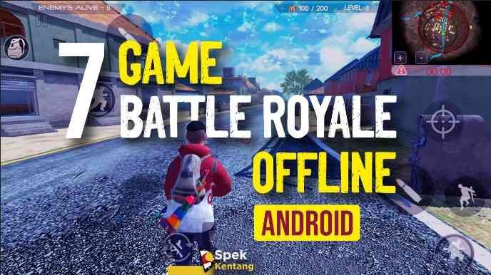 7 Game Battle Royale Offline Terbaik di Android 2020