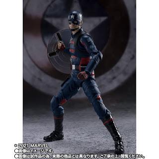 S.H.Figuarts John Walker Captain America, Tamashii Nations