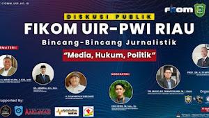Besok Sore Fikom UIR, DPRD Riau dan PWI Riau Bincang-bincang Jurnalis