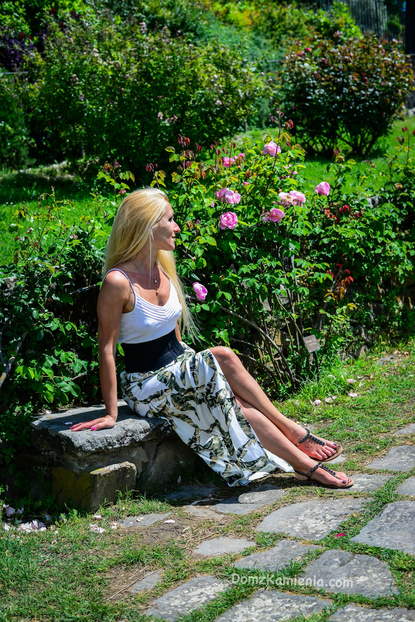 Dom z Kamienia, Ogród Róż we Florencji
