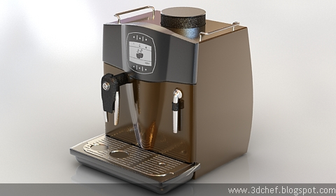 free 3d model coffee maker