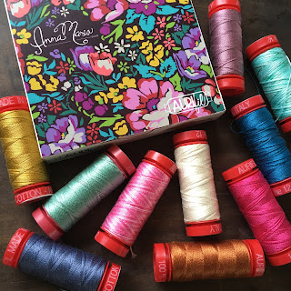 Anna Maria Horner Aurifil 12wt thread collection