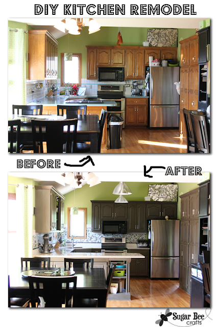 DIY Kitchen Remodel -the BIG REVEAL!