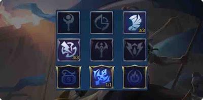 Emblem hero Silvanna Mobile Legends