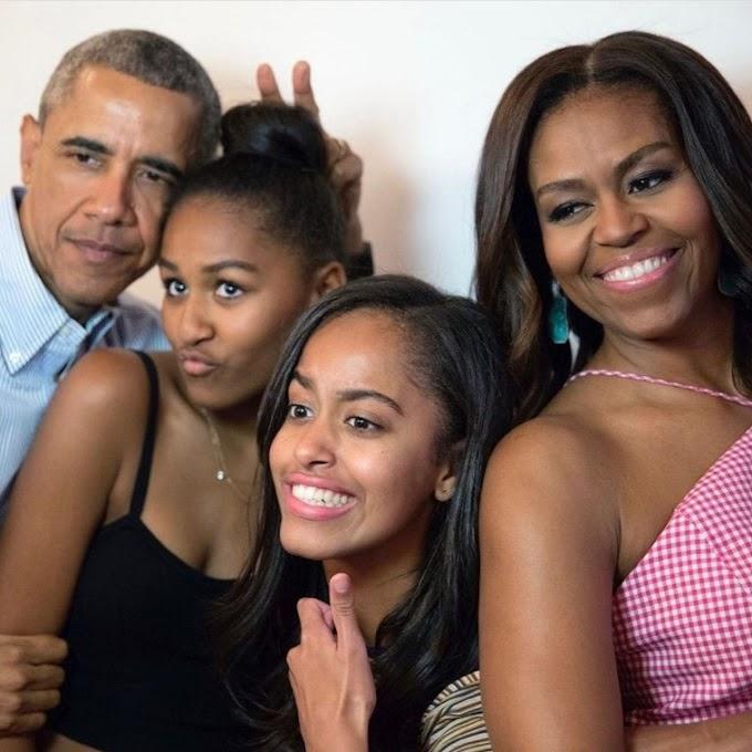 Michelle Obama praises husband, Barack Obama, as he turns 60