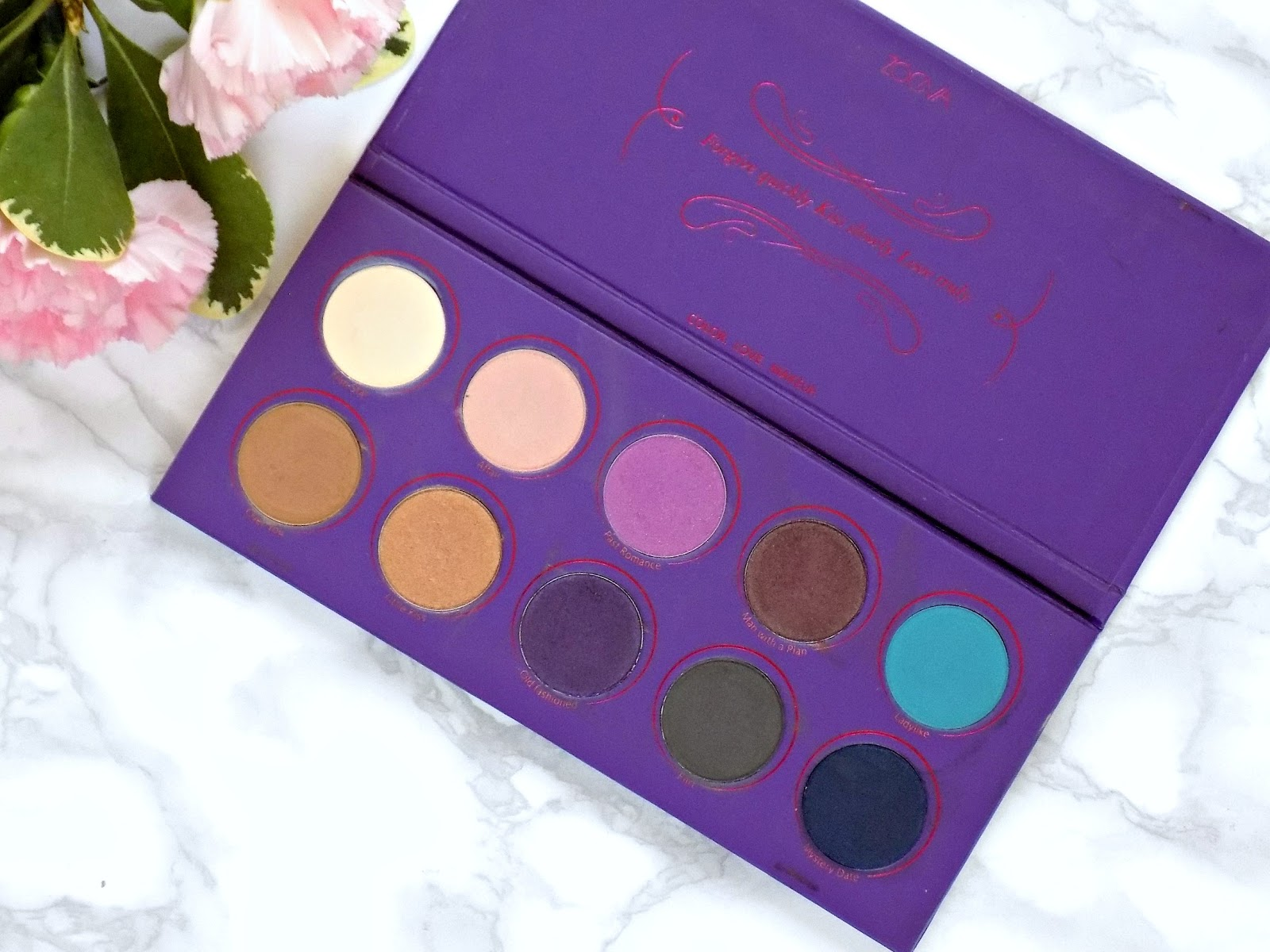Zoeva Love Is A Story palette