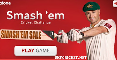 Online Smash'em cricket game