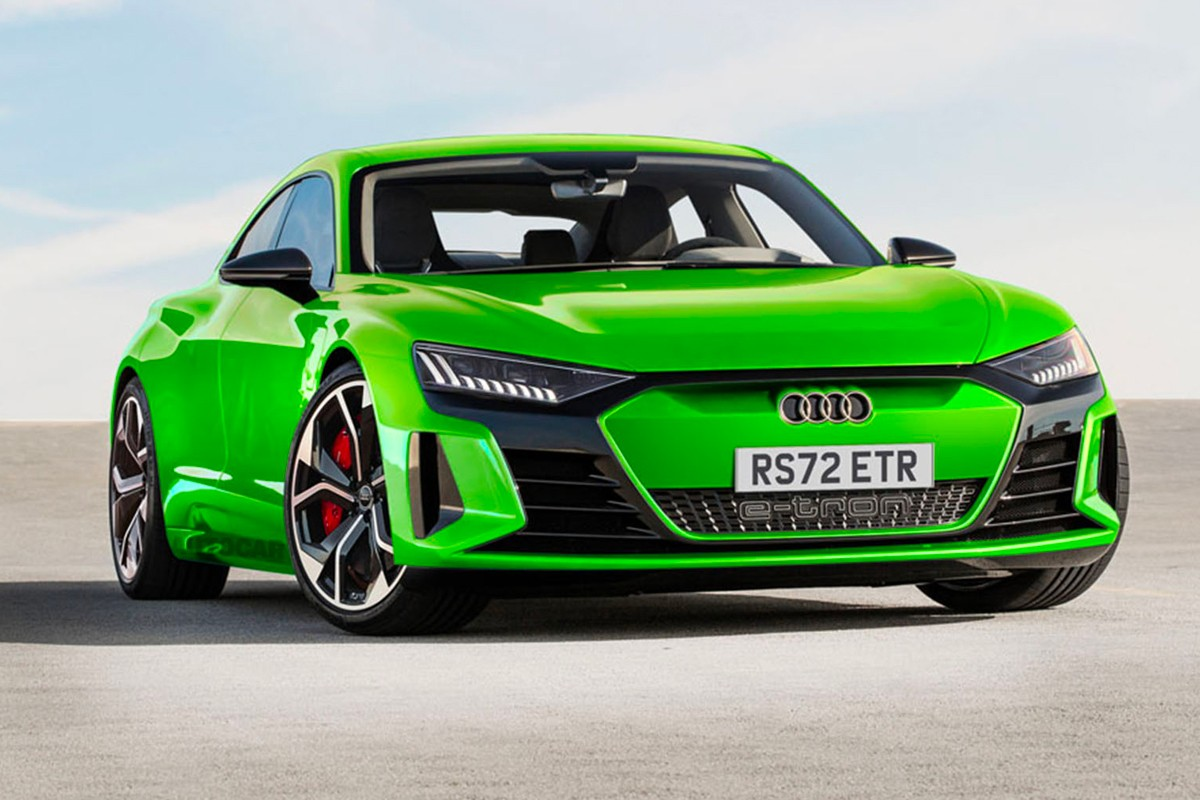 audi rs models etron electric vehicles to receive high