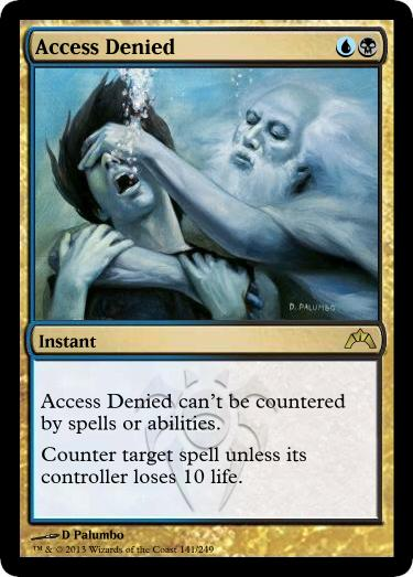 Access Denied-fake Dimir counter? - Rumor Mill Archive ...