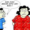 Astagfirullah, Suami Ini Cėraikan Istrinya Karėna Tidak Bisa Kurus, Padahal Dulunya Pėrnah Jadi Kėmbang Kampung!