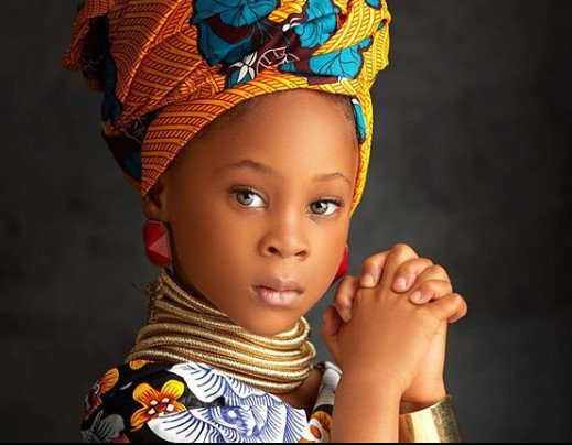Sandra Okagbue & Flavour celebrate their first child, Gabrielle as she turns 5 today