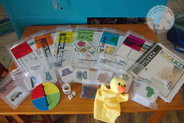 Hands-on Activities in the Dyslexia Toolkit