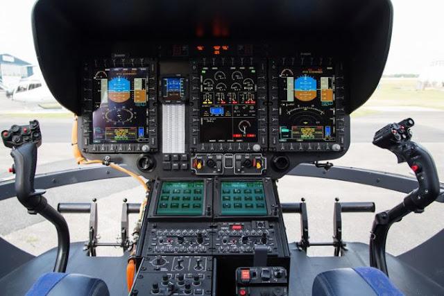 Airbus H145 cockpit