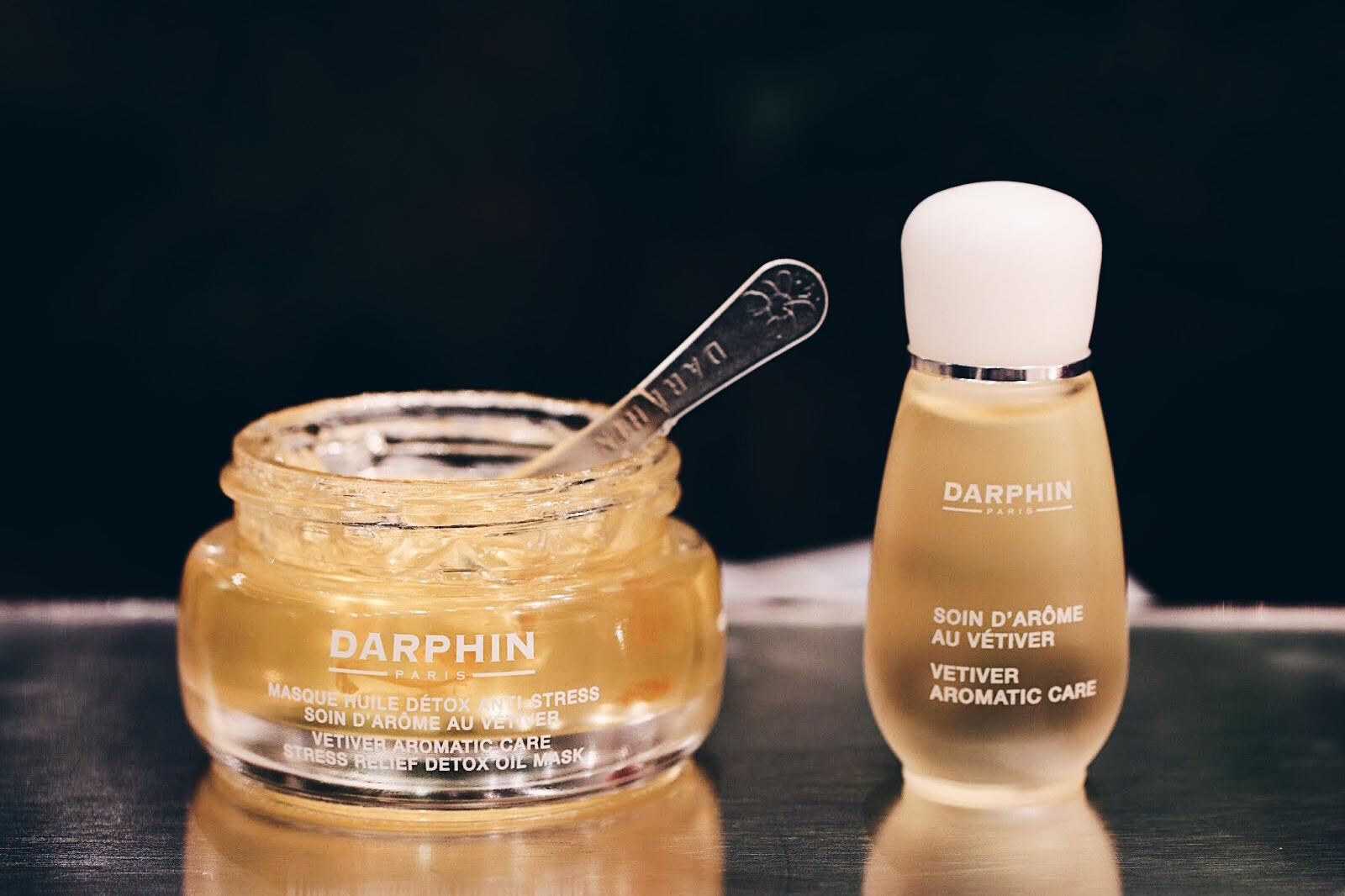 darphin masque huile detox soin d'arome vetiver