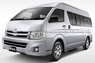 Sewa Rental Mobil Commuter Toyota Hiace di Padang Bukittinggi