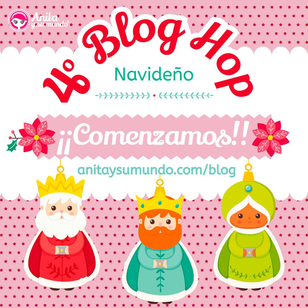 """""""Double Slider Card"""" - 4º Blog Hop navideño Anita y su mundo"""
