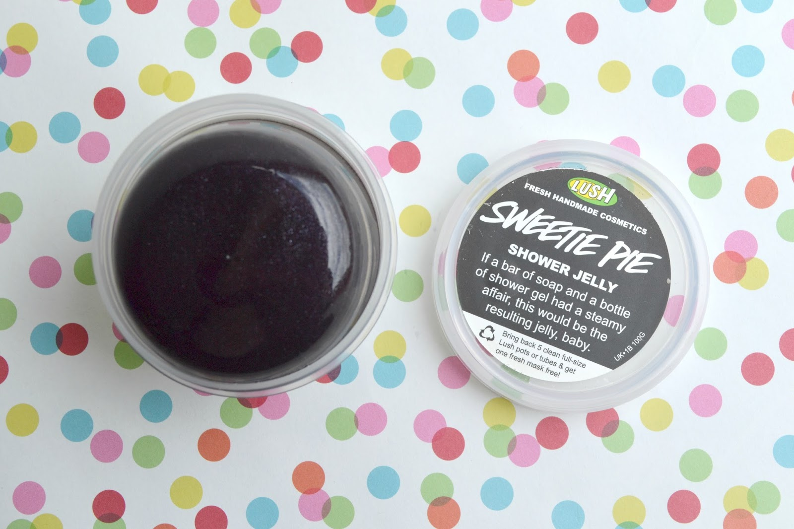 Lush: Sweetie Pie Shower Jelly