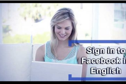 Facebook In English Language Login