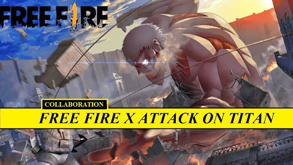 Free Fire x Attack On Titan (Shingeki No Kyojin) Collaboration