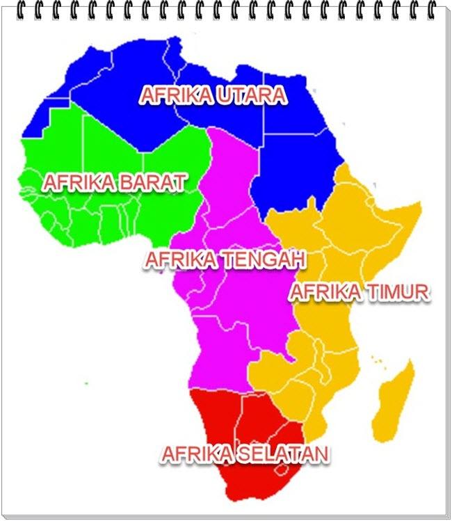 Letak Dan Luas Benua Afrika Mikirbae Com