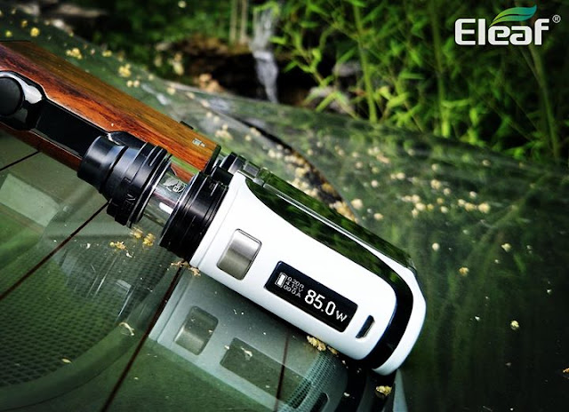Using the Preheat function of Eleaf vape