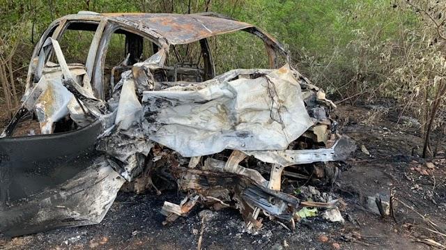 Motorista morre carbonizado após batida frontal na BR-406 no RN