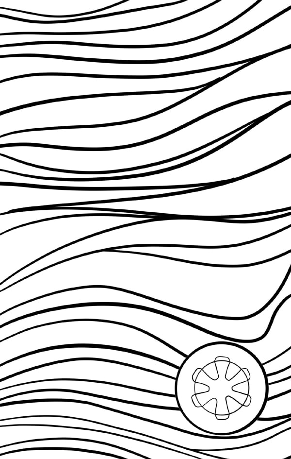 beskar steel Damascus blade pattern for making notebooks