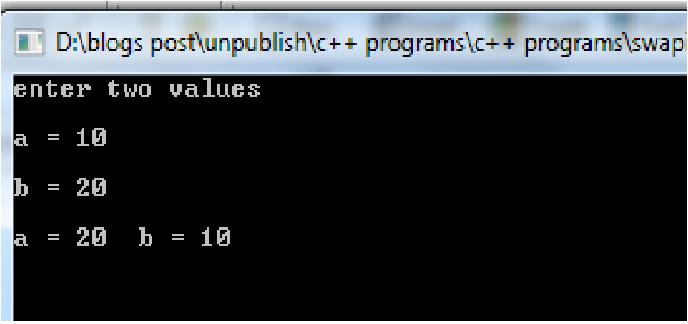 Program: Write a program for Insertion Sort in java.