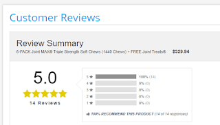 Customer reviews  Joint MAX® Triple Strength Soft Chews