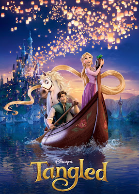 Poster Of Free Download Tangled 2010 300MB Full Movie Hindi Dubbed 720P Bluray HD HEVC Small Size Pc Movie Only At worldfree4u.com