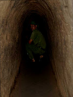 Inside the tunnels of Cu Chi (Vietnam)