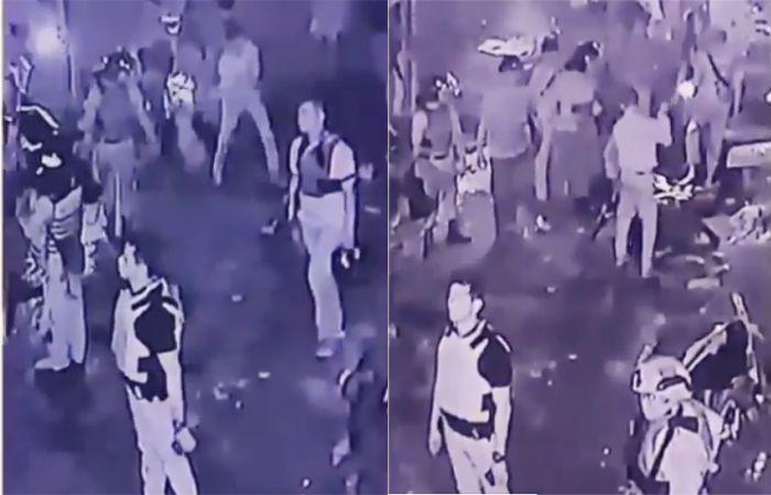 Video dan CCTV Diduga Aparat Yang Merusak Kendaraan