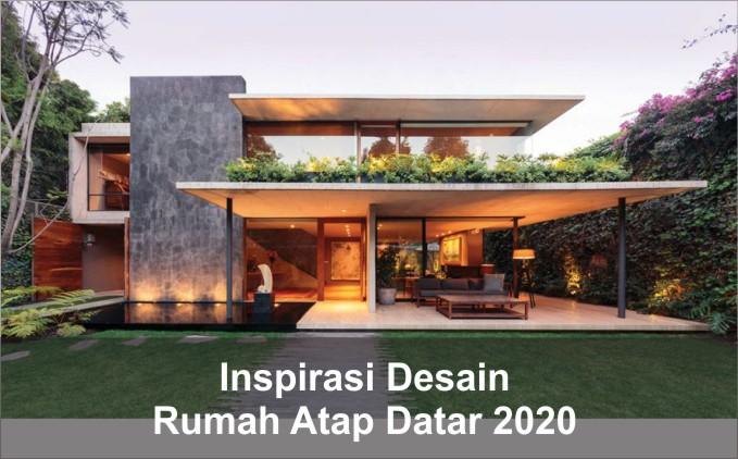 rumah atap datar 2020
